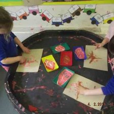 Chinese New Year – Finger painting